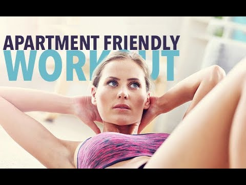 APARTMENT FRIENDLY WORKOUT | Quiet Cardio HIIT | Perfect For Small Spaces!