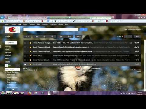 Google Drive-Deleting Gmails