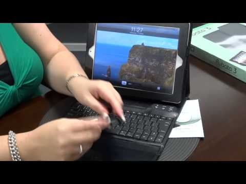 Rubata 3 Bluetooth Keyboard Case for iPad - Unboxing