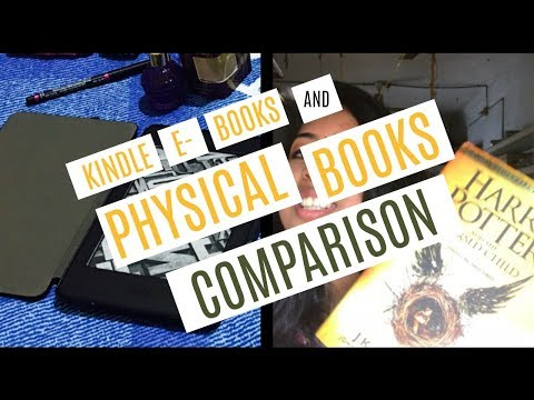 Kindle Ebooks vs Physical Books || Comparison || Part 1 || Booktuber in India
