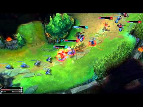 League of Legends - Vi Early Game Gank Power