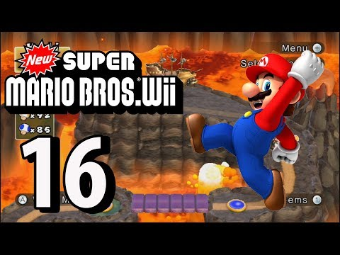 New Super Mario Bros. Wii - Part 16 (4 Player, 2018)