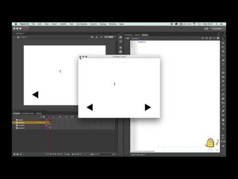 Adobe Flash tutorial: Making an interactive button