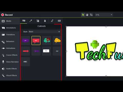 All Features Introduction of Camtasia 9 Studio In Hindi - By Nirbhay Kaushik