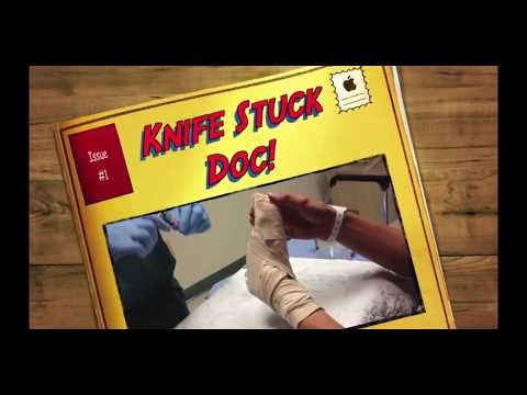 Knife Removal in the Emergency Room - Medical Mondays!
