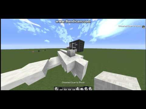 (Minecraft HowToBuilds) How to build a small private jet