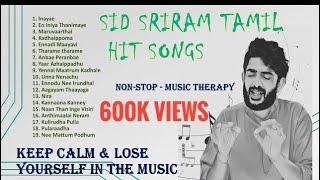 Sid sriram songs     travel and sleep    Happy songs    Tamil Melody Songs