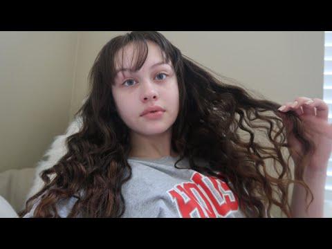 HAIR ROUTINE / HOW I DO MY WAVY HAIR