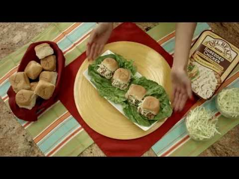 BBQ Shredded Chicken Sliders