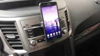 DiY Car CD Slot Phone Mount