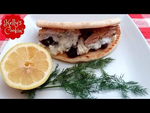 Greek Chicken Pita/Gyro Recipe With Homemade Tzatziki Sauce-Air Fryer Cook's Essentials