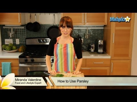 How to Use Parsley