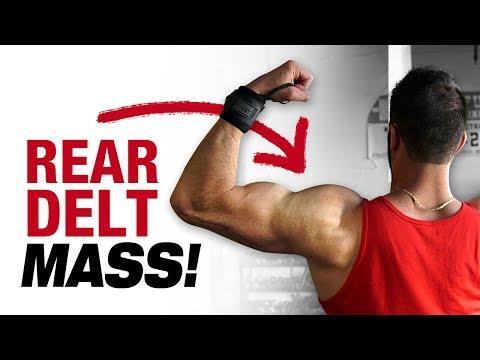 3 Shoulder Workouts For Mass and Definition (3 BEST REAR DELT EXERCISES!)