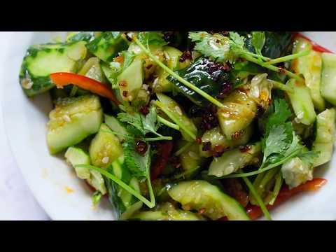 Smashed Cucumber Salad (拍黄瓜)