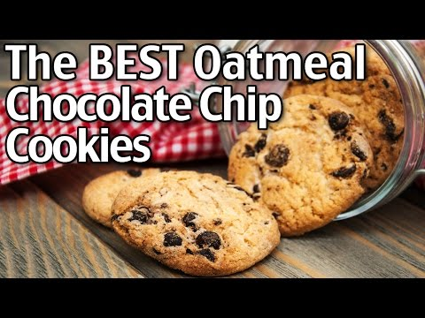 The BEST Oatmeal Chocolate Chip Cookies!