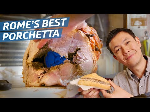 This Is Rome's Best Porchetta Sandwich — Dining on a Dime