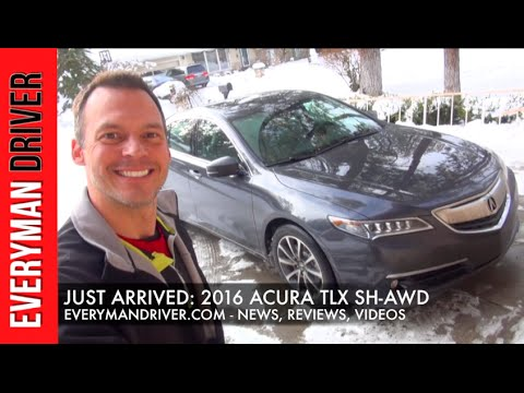 Just Arrived: 2016 Acura TLX SH-AWD on Everyman Driver
