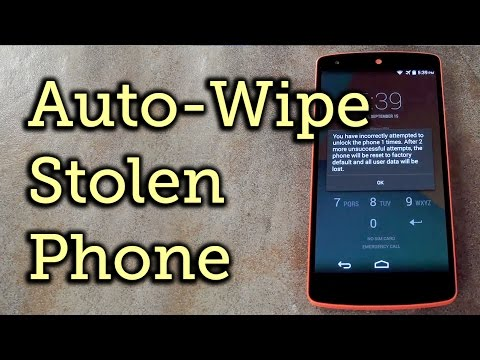 Make Your Android Auto-Wipe Your Data When Thieves Try to Unlock It [How-To]