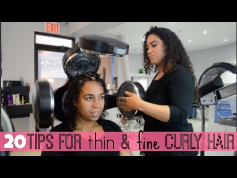 20 Tips for Thin & Fine Curly Hair | All Things Ada