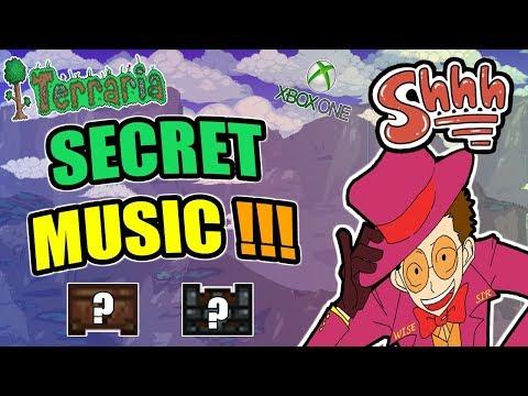 Terraria: Two Hidden Music In Xbox/PS4!!! (KEEP IT A SECRET)