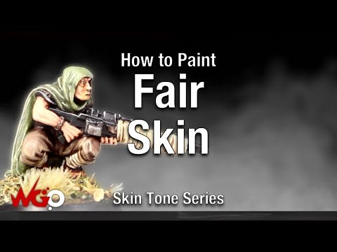 How to Paint Fair Skin Tone