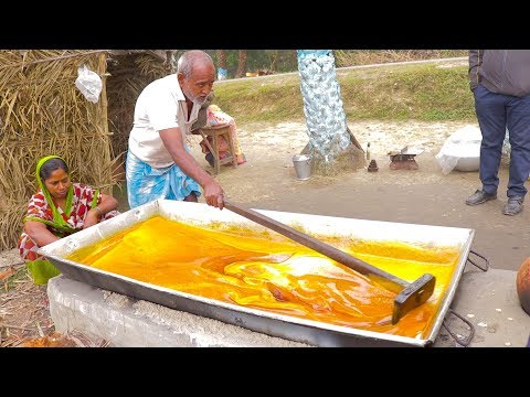 Jaggery Making Process | Traditional Food |  Jaggery Production Process