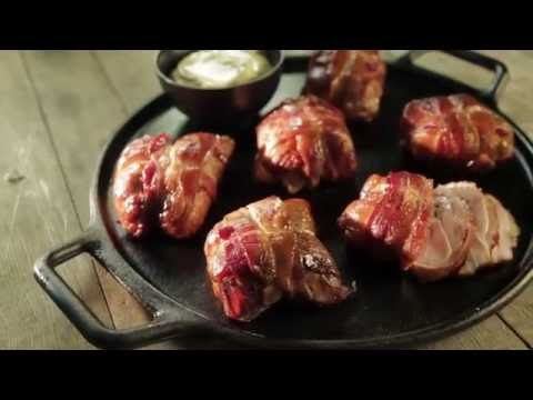 Project Smoke Recipe: Bacon, Ham and Cheese Chicken Thighs