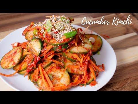 Cucumber Kimchi - Easy Korean Cucumber Kimchi