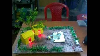 Energy from bullock movement - Science Project Working Model