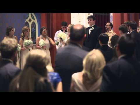 😭 Daniel + Morgan's Wedding Video at Holy Family Cathedral in Tulsa, OK