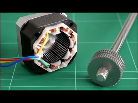 3D Printer stepper motor mod