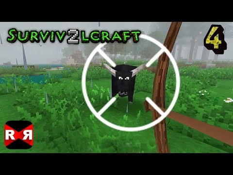 Survivalcraft 2 - Bow Hunting Time - Gameplay Part 4