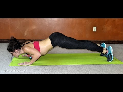 20 Minute Plank, Push-up & Burn: Workout to Burn Fat and Sculpt Abs