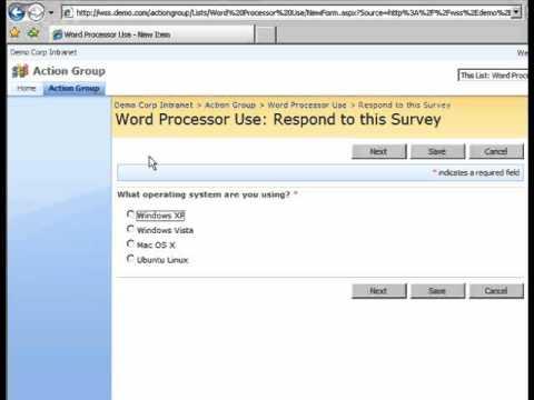 SharePoint Shepherd 2007 - Send A Survey Link
