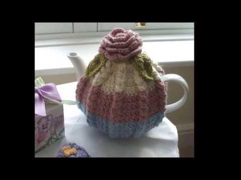 Crochet Woven Teapot Case/Cover