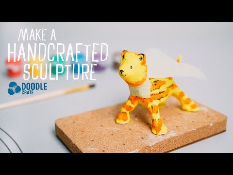 Handcrafted Sculpture - Doodle Crate Project