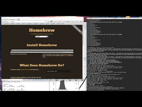 Basic install of homebrew (os x) & arp-scan (os x, debian)