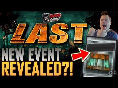 LAST MAN STANDING EVENT REVEALED!! AJ STYLES FLASH EVENT COMING! | WWE SuperCard S4