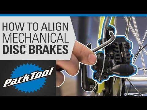 How to Align a Mechanical Disc Brake on a Bike