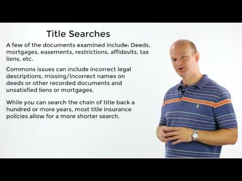 What is a Title Search?