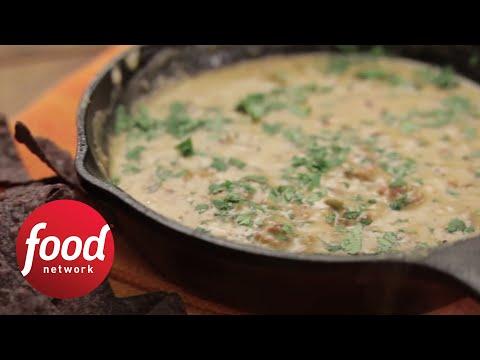 Queso Fundido con Chorizo   Food Network