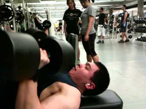 Dumbbell Bench - 100lbs