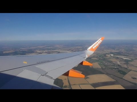 EasyJet Airbus A320-214 / London Luton to Inverness *FULL FLIGHT*