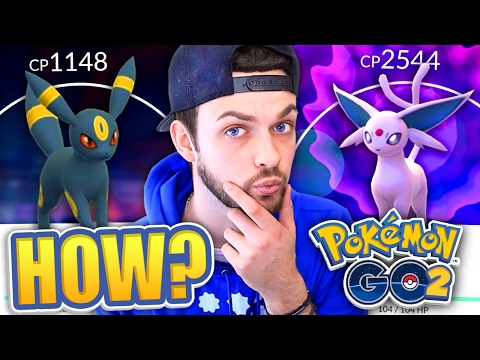 Pokemon GO (GEN 2) - HOW TO GET ESPEON + UMBREON 100%! (NEW EVOLUTIONS)
