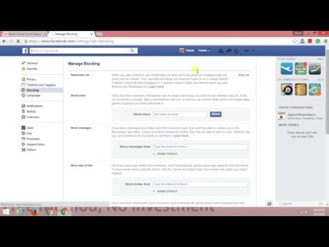 Block Candy Crush Request On Facebook – Block Facebook Profile, Page, Events, Friend and Messages