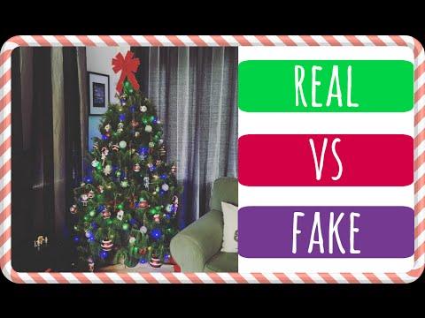 Real Vs Artificial/Fake Christmas Tree?? || JessChillin@Xmas - Day 15