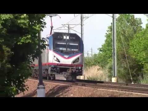 Amtrak Northeast Regional 82 In Mystic, CT
