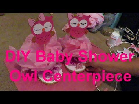 DIY Baby Shower Centerpiece