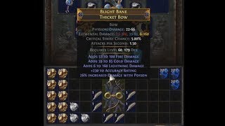Did Someone Say New Ele Bow? Elder Weapon Crafting: Blight Bane Thicket Bow | Demi