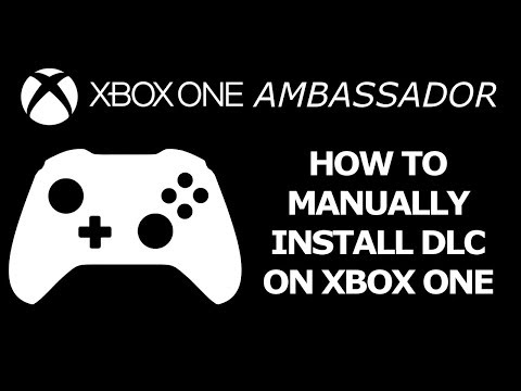 How to Manually Install DLC on your Xbox One X if it won't install | Xbox Ambassador Series